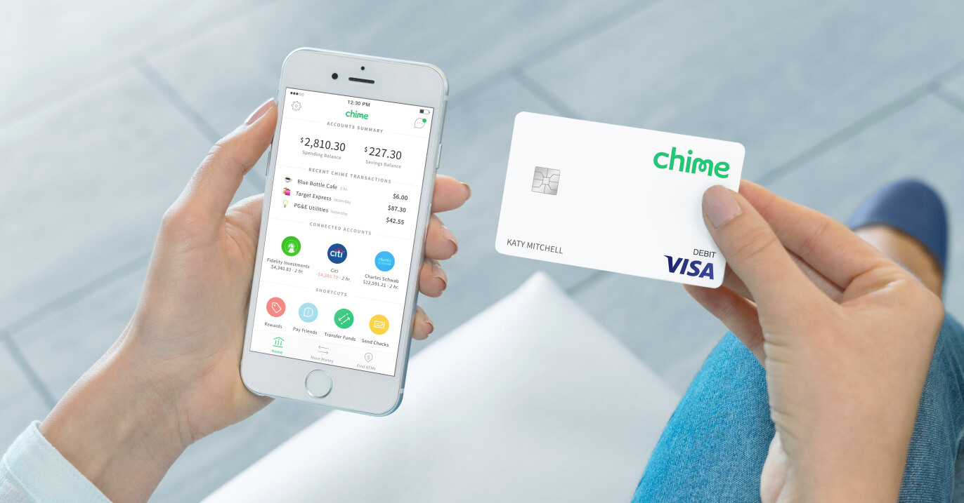 Meet Your New Mobile Bank Account - Chime Mobile Banking App
