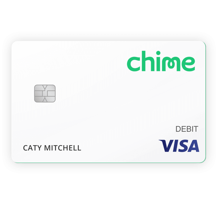 Chime Visa Debit Card