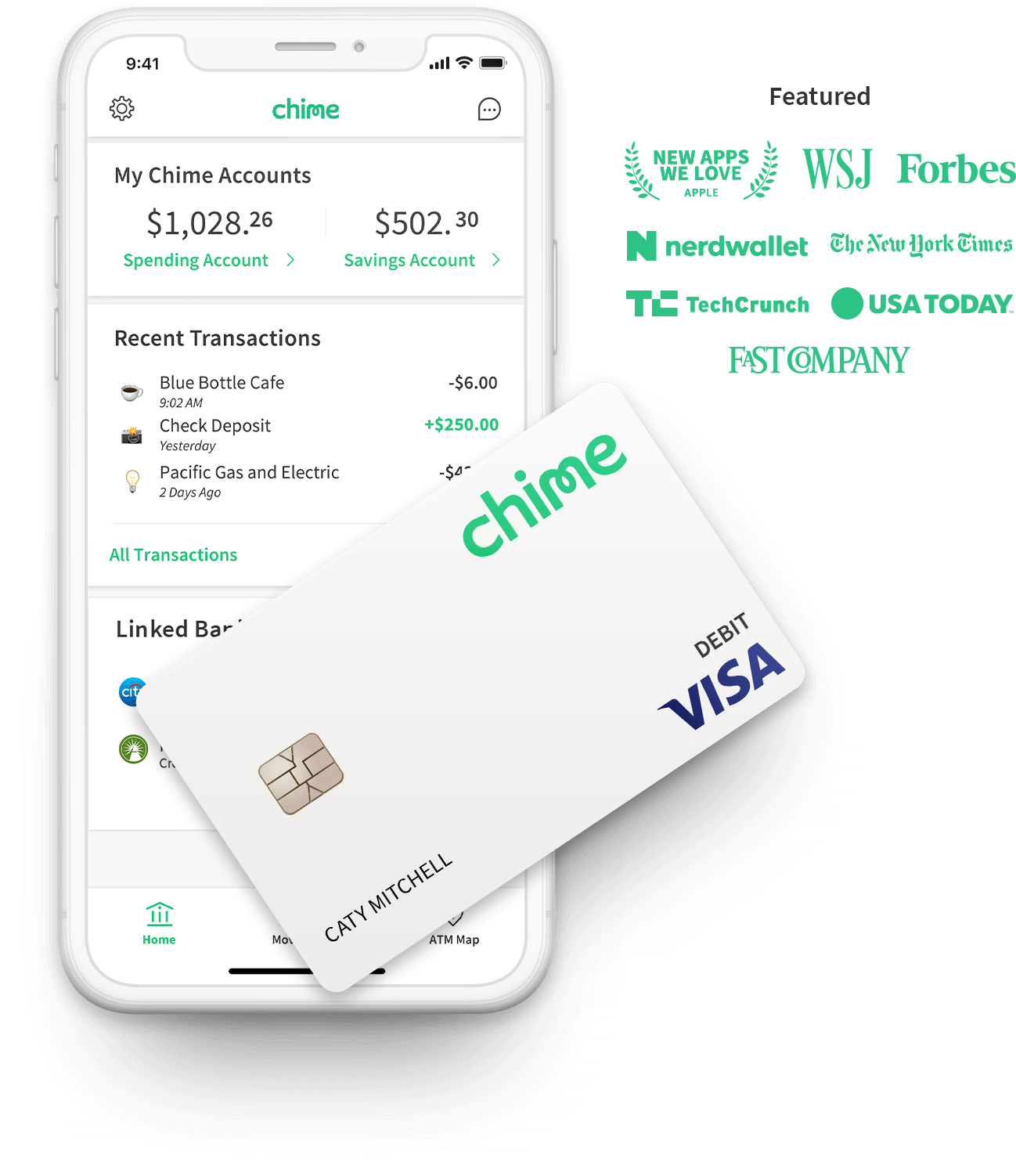 chime bank ach transfer