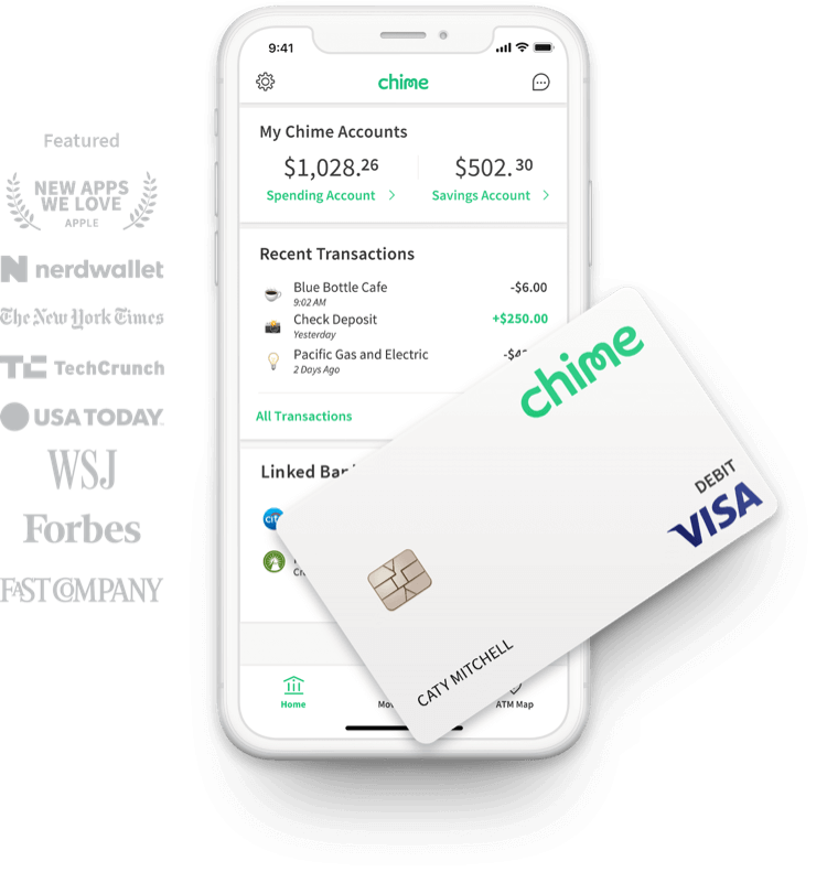 Chime Banking - No Hidden Fees  Grow Your Savings Automatically