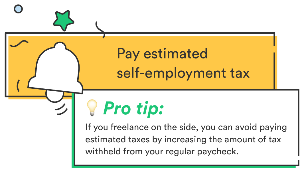Tax resource for freelancers: pay estimated self-employment tax