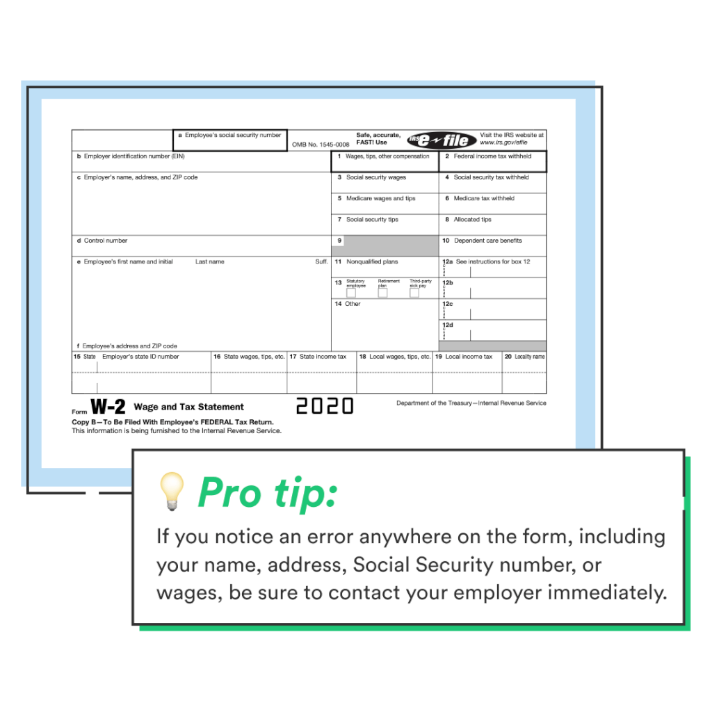What Is A W2 tax Form
