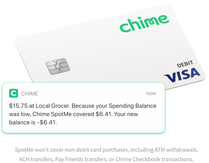Chime Online banking app notifications