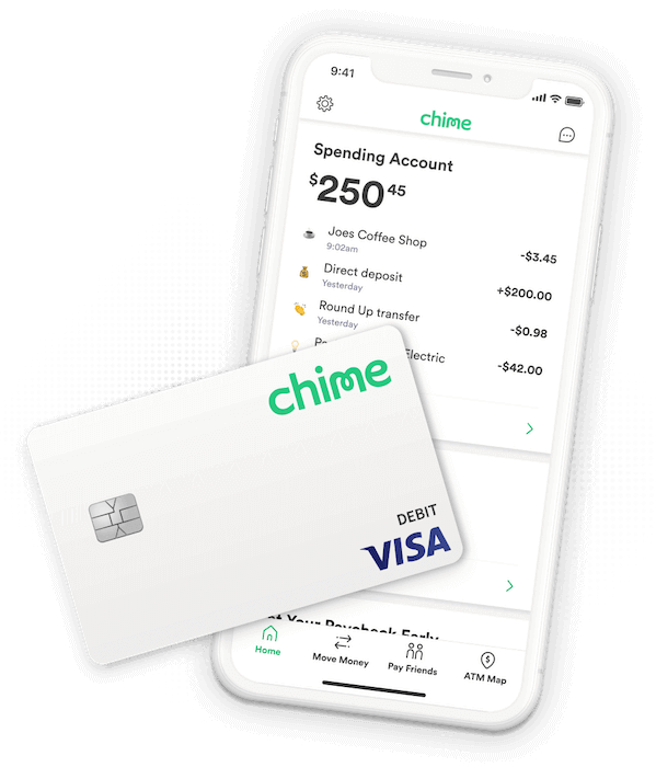 Chime Online Banking App and Debit Card