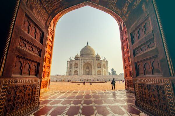 Virtual Vacation Ideas Taj Mahal