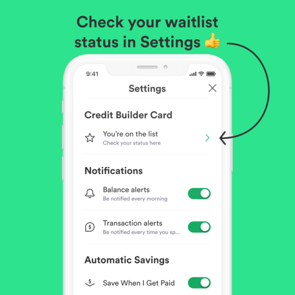 Chime Credit Builder Check Status Waitlist