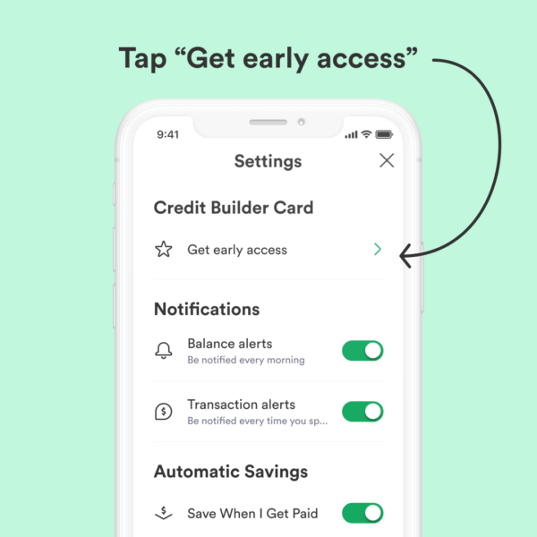 How to join Chime Credit Builder waitlist 2
