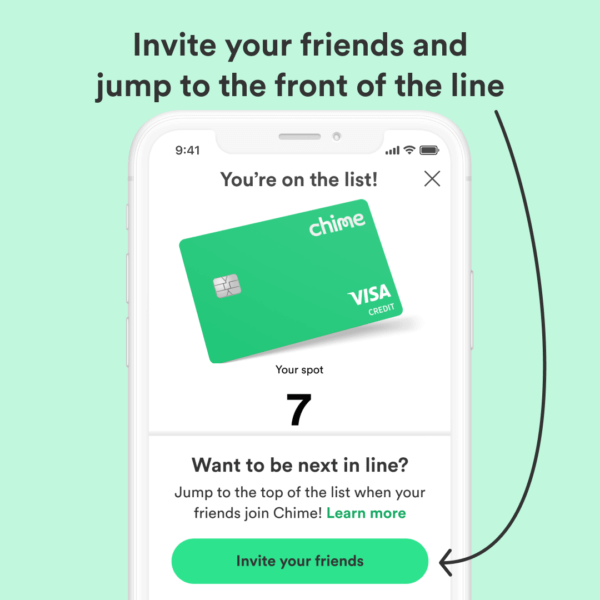 How to join Chime Credit Builder waitlist 4 invite friends