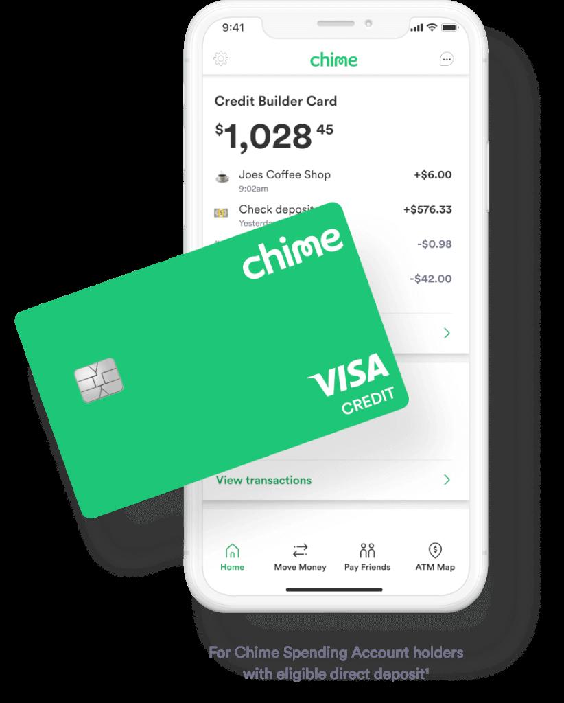 Chime Credit Builder Card - Desktop