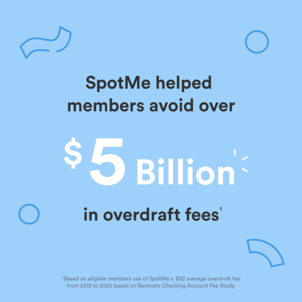 SpotMe whole lotta good: overdraft fees
