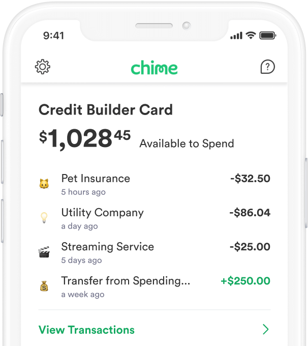Chime Credit Builder How it works